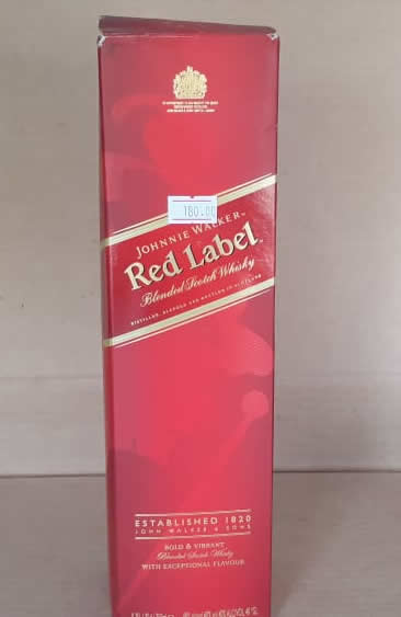 Whisky Red Label Jhonnie Walker 1 Botella