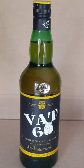 Whisky Vat 69 1 Botella