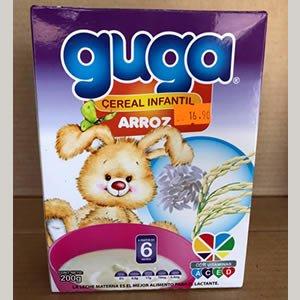 Cereal Infantil Arroz Guga Caja 200grs