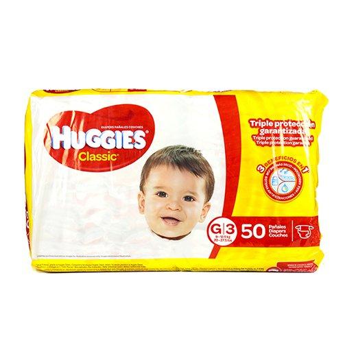 Pañales G3 Huggies Pack de 50 unidades