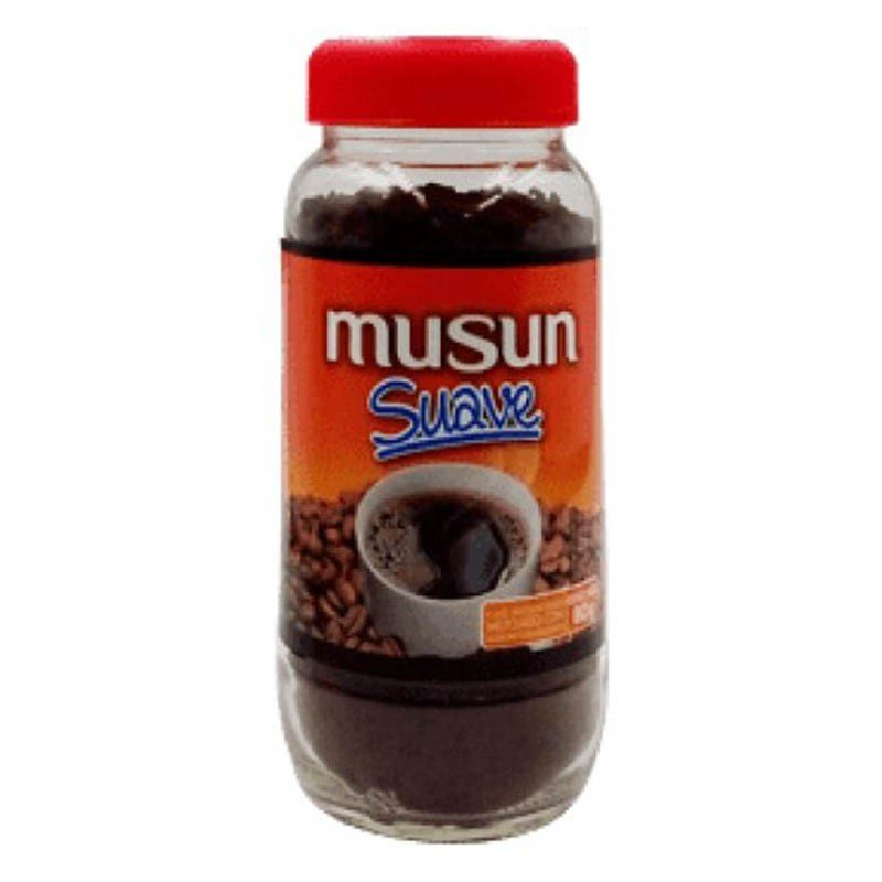 Cafe Instantaneo Musun Suave bote 80grs