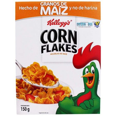 Cereal Kelloggs Corn Flakes Caja 150grs
