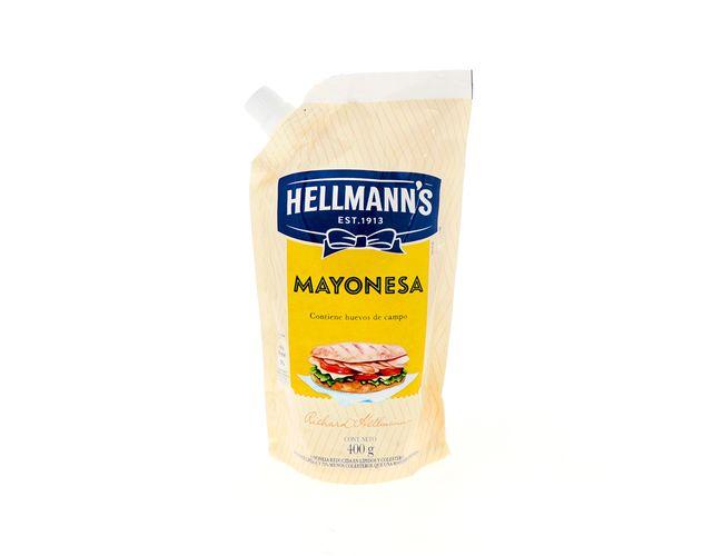 Mayonesa Hellmanns Doy Pack 400 gramos
