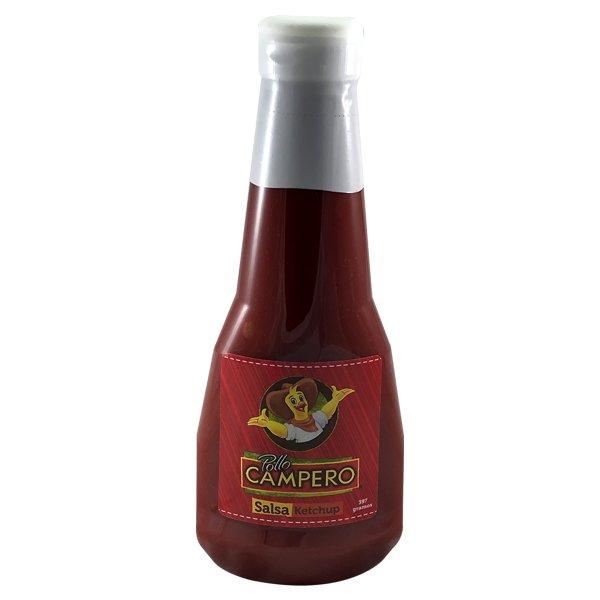 Salsa de Tomate Ketchup Campero botella 397 grs