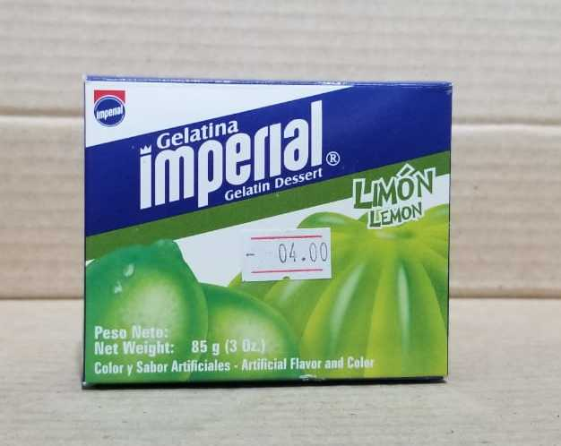 Gelatina Limón Imperial 85g (3 onzas)