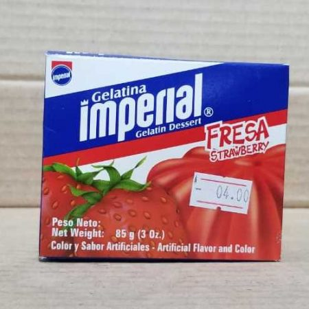 Gelatina FRESA Imperial 85g (3 onzas)