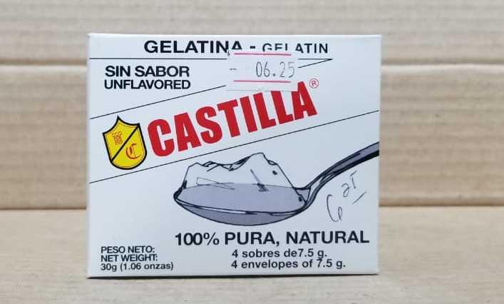 Gelatina sin sabor Castilla 30g