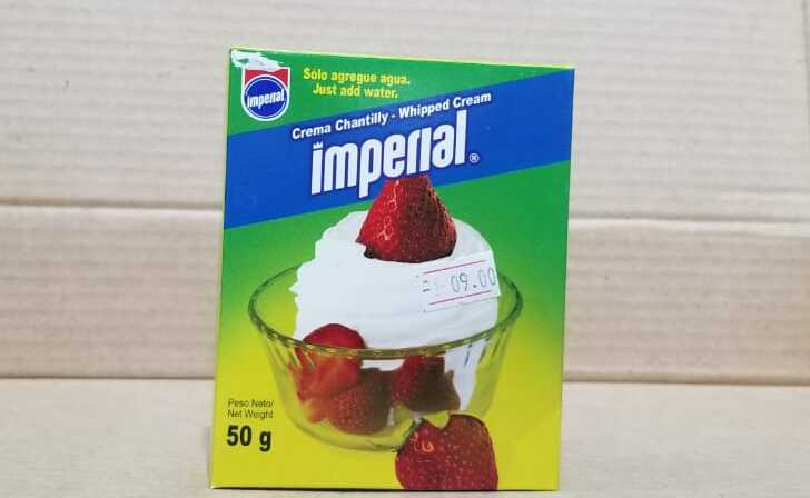 Crema Chantilly IMPERIAL 50 g