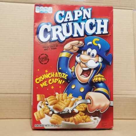 Cereal Cap´n Crunch caja roja 398 gramos