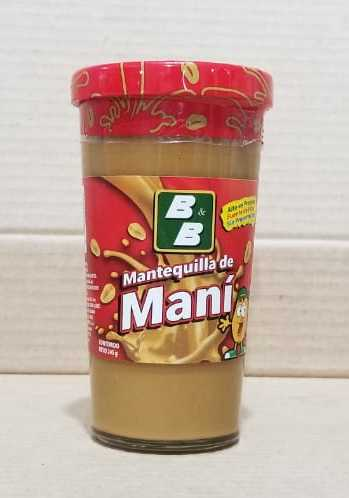 Mantequilla de Mani B&B 245 g