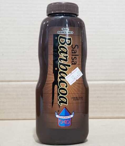 Salsa barbacoa botella 360 gramos