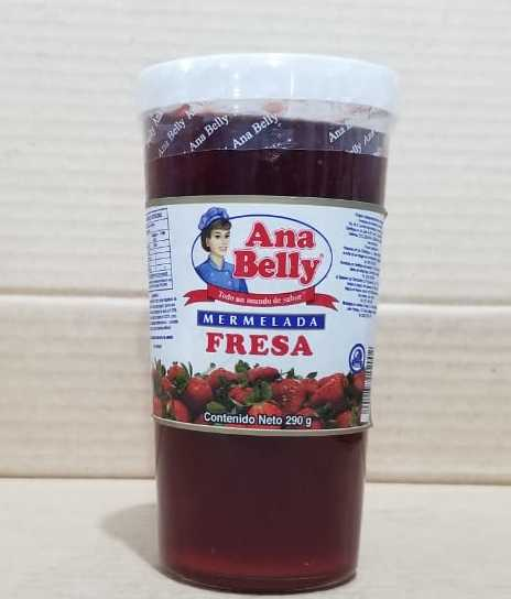 Mermelada Fresa Ana Belly 290 g
