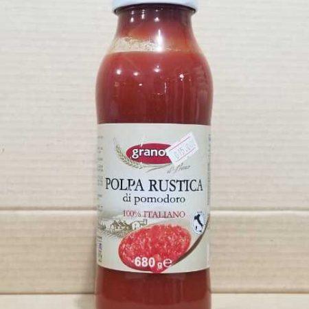 Pulpa de Tomate Rustica Granoro 680 gramos