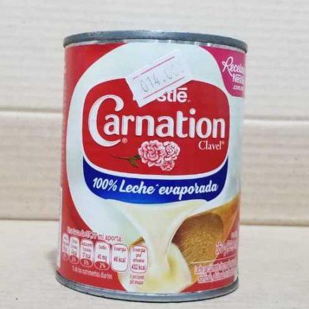 Leche Evaporada Carnation Nestle Lata 360 grs