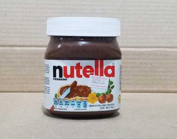 Crema de Avellanas con Cacao Nutella 350 grs