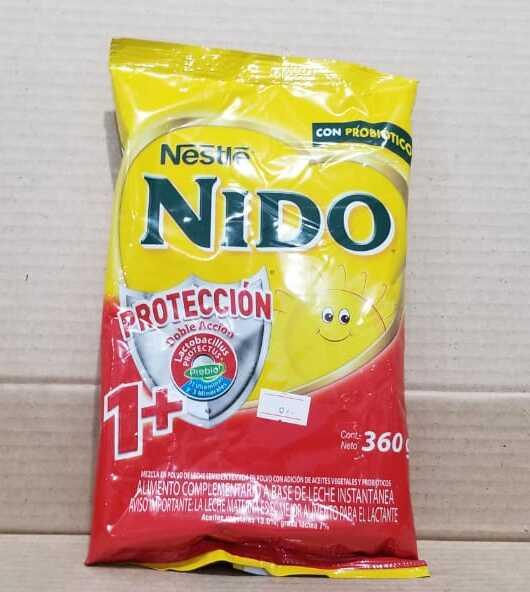 LECHE EN POLVO NESTLE NIDO PROTECCION 1 + BOLSA 360 G