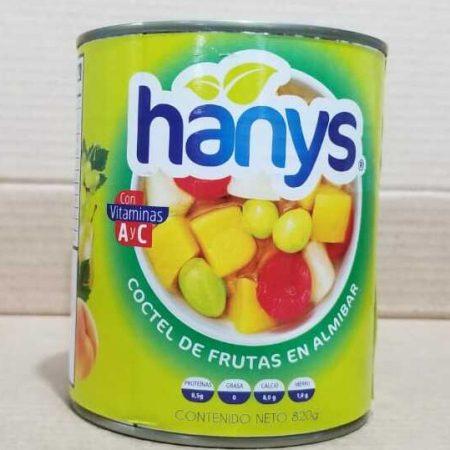 Coctel de fruta en almibar Hanys 20 g