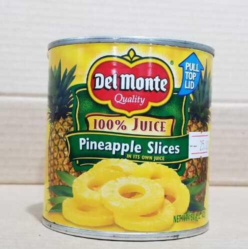 Piña en rodajas del MONTE 100% Juice 432g (15. 1/4 onzas)