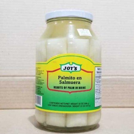 Palmitos en salmuera Joy´s 625 gramos