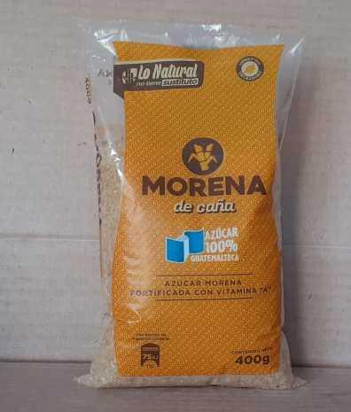 AZUCAR MORENA DE CAÑA 400 G