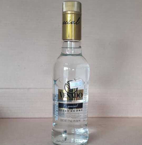 Ron venado especial media botella 375 ml