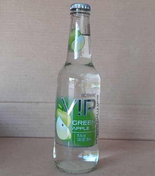 Vip Botran green apple manzana 355 ml