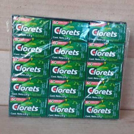 Gomar de mascar Clorets Freshmint Unidad menta verdeGomar de mascar Clorets Freshmint Unidad menta verde