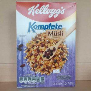 Kelloggs Komplete Musli con pasas 435 g (15.3 onzas)