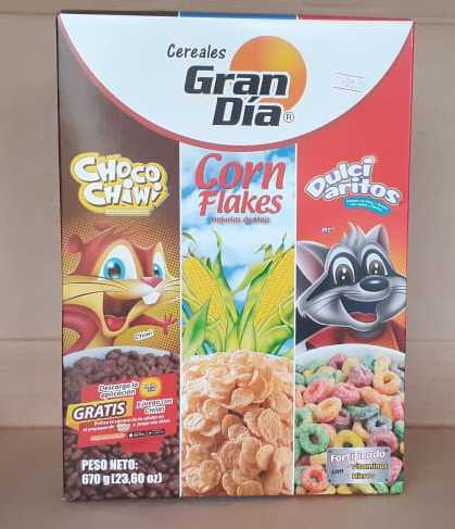 Cereales Gran día Trio pack 670 g (23.60 onzas)