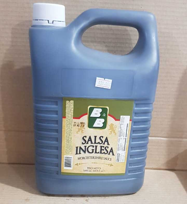 SALSA INGLESA B&B 3850 ML GALON