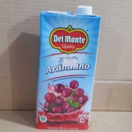 Jugo de Arandanos Del Monte Tetra Pack 1 litro