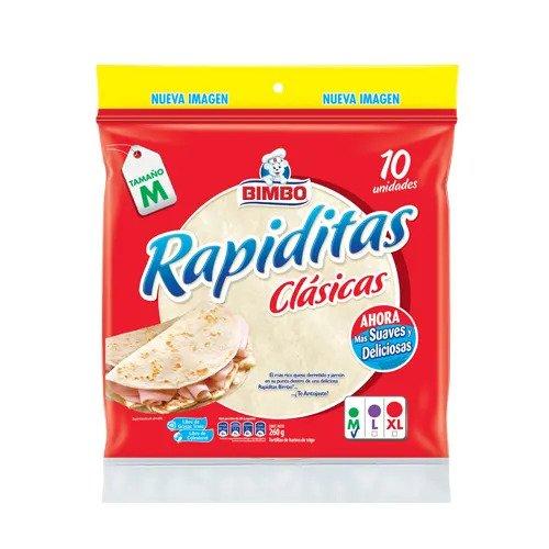 Tortillas de Harina BIMBO Pack 10 unidades