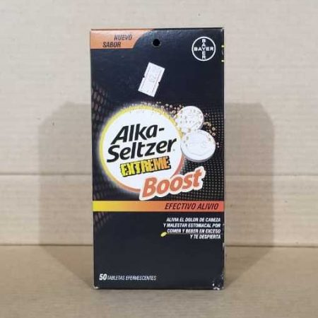 Alka Seltzer Extreme Boost efectivo alivio / Efervescentes
