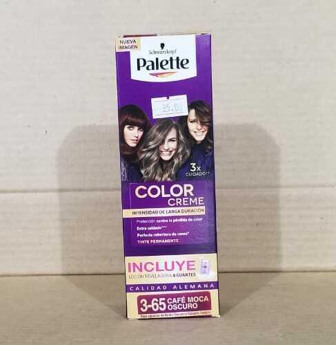 Tinte Para el Cabello Palette 3-65 Cafe Moca Oscuro