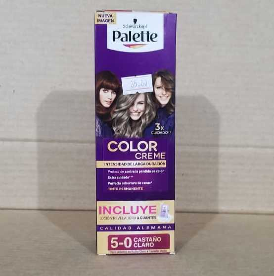 Tinte Palette 5-0 Castaño Claro