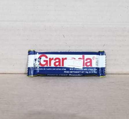 Chocolate Granada de leche 10g (0.35 onzas) Azul