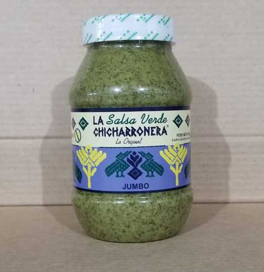 LA SALSA VERDE CHICHARRONERA LA ORIGINAL JUMBO 860 G
