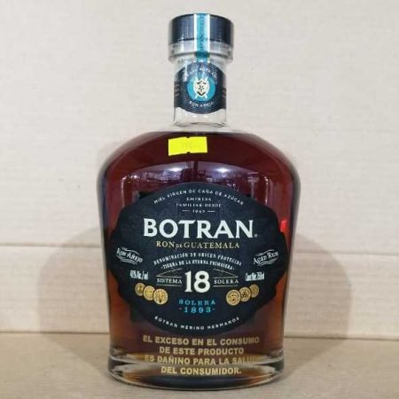 Ron Botran botella 18 Solera 750 Ml