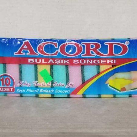 Esponja ACORD Doble uso Bolsa de 10 unidades