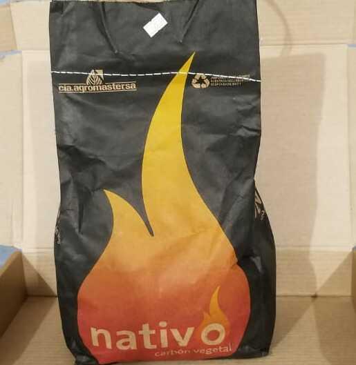 Carbon vegetal Nativo 3 libras