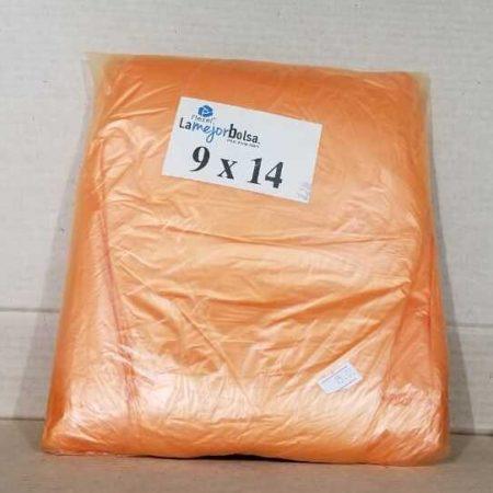 Bolsa plastica Flexel 9 * 14 Color 5
