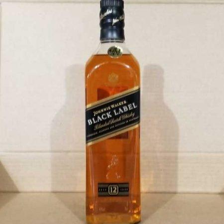 Whisky Black Label Johnnie Walker 12 años 1 Botella
