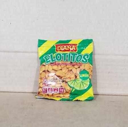 Boquita Elotitos con Limon Diana Bolsa 15 grs