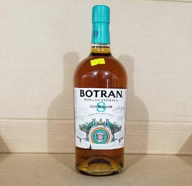 Ron Botran 8 años 1 botella