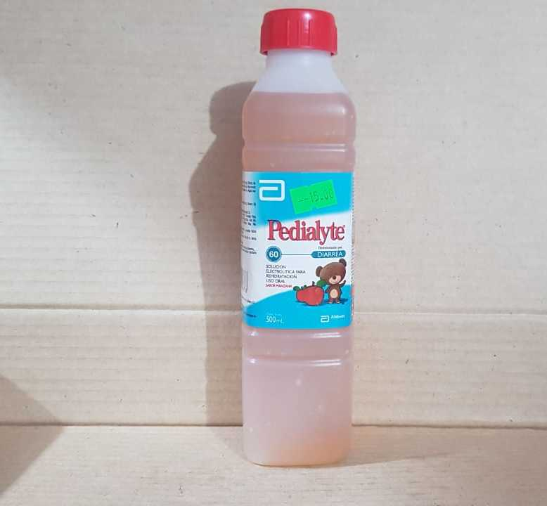 pedialyte 60 sabor manzana 500 ml