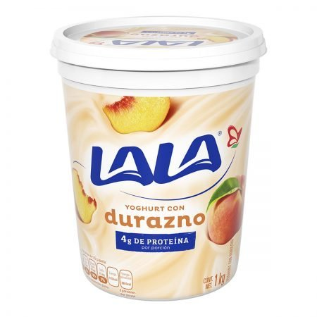 Yogurt de Durazno LALA 900 grs