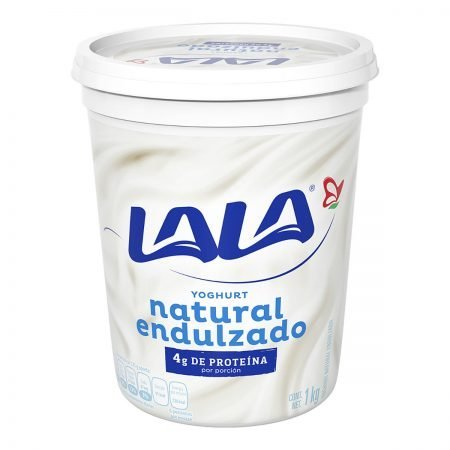 Yogurt Natural Endulzado LALA 900 grs