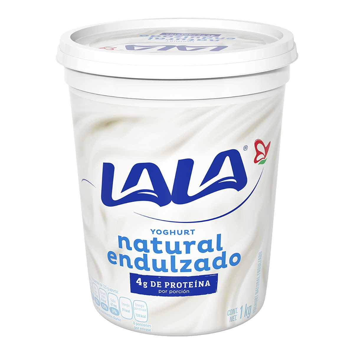 Yogurt Natural Endulzado LALA 900 grs