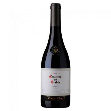 Vino Reserva Castillero del Diablo Shiraz Concha y Toro 750 ml