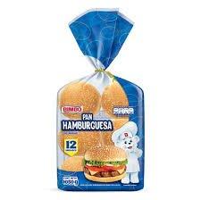 Pan Hamburguesa Bimbo Pack 12 unidades